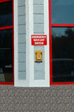 Shut-Off έκτακτης ανάγκης διακόπτης Στοκ φωτογραφία με δικαίωμα ελεύθερης χρήσης
