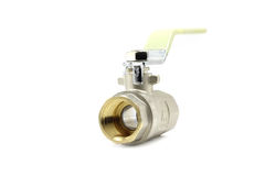 Shut-off ball valve Stock Images