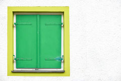 Shut shutters Royalty Free Stock Photography