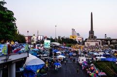 Shutdown Bangkok Concept 2/2/2014. Royalty Free Stock Image