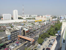 Shutdown Bangkok Restart Thailand Royalty Free Stock Photos