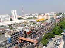 Shutdown Bangkok Restart Thailand Stock Photos