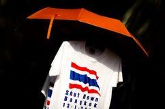 Shutdown Bangkok t-shirt. Thailand. Stock Photo