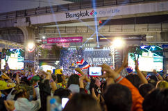 Shutdown Bangkok. Thailand. Royalty Free Stock Images