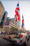 Shutdown Bangkok. Thailand. Stock Photo