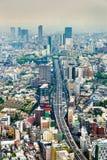 Shuto Expressway 3 in Tokyo, Japan Royalty Free Stock Photo