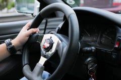 Shutt steering wheel Stock Photography