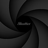 Shutter aperture. The illustration of a shutter aperture vector illustration
