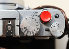 Shutter button Royalty Free Stock Image