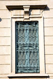 shutter europe  italy  lombardy       in    milano old   window Royalty Free Stock Image