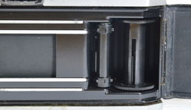 Shutter film camera Stock Photo