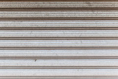 Shutter-iron gate Royalty Free Stock Image