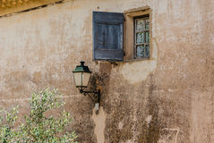 Shutter and lantern Royalty Free Stock Photos