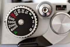 Shutter speed dial Stock Image