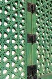 Shutter Window Stock Photo