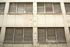 Shutter windows Stock Photography