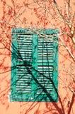 Shuttered Fenster Stockfotos