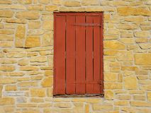 Shuttered old window Stock Image