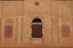Shuttered Palace Window Stock Photo