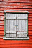 Shuttered Window Stock Images