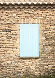 Shuttered Window in France Royalty Free Stock Photo