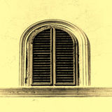 Shuttered Window Stock Photography