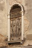 Shuttered window, Venice Stock Images