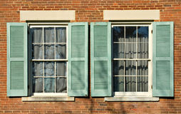 Shuttered Windows Royalty Free Stock Photos