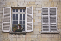 Shuttered windows. Stock Photography