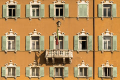 Shuttered Windows in Italy Royalty Free Stock Image