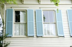 Shuttered Windows Stock Image