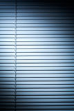 Shutters with Blue Spot Light Stock Photos