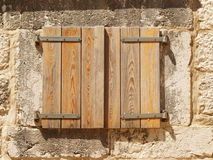 Shutters closed (10) Royalty Free Stock Photography