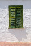 shutters fönstret Royaltyfri Foto