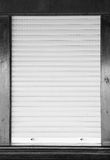 Shutters on the shop window Royalty Free Stock Photos
