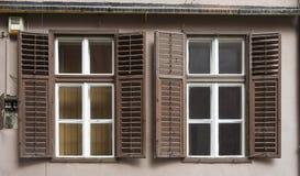 Shutters in Sibiu Romania Stock Photography