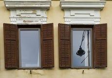 Shutters in Sibiu Romania Stock Images