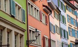 Shutters of Zurich. The Shutters of Zurich in Switzerland Royalty Free Stock Images