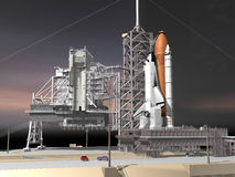 Shuttle Royalty Free Stock Photography