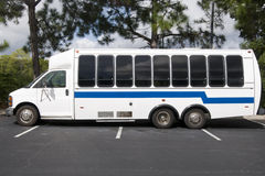 Shuttle Bus Stock Image