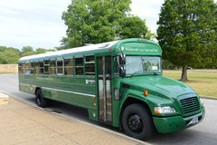 Shuttle Bus in Mammoth Cave National Park, USA Royalty Free Stock Photography
