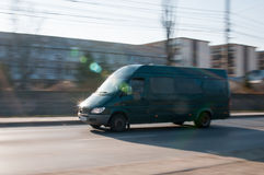 Free Shuttle Bus Motion Stock Images - 51240984