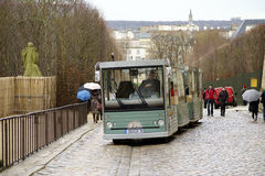 Shuttle bus Palace of Versailles Royalty Free Stock Photography