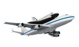 Shuttle Carrier Aircraft Royalty Free Stock Photo
