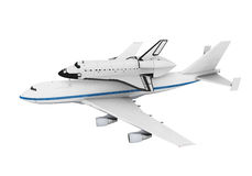 Shuttle Carrier Aircraft Royalty Free Stock Image