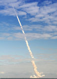 Shuttle Launch. Launch of the Space Shuttle Atlantis on November 16, 2009 Stock Images