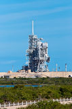 Shuttle Launch Pad. NASA Kennedy Space Shuttle Launch Center Stock Images