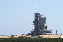 Shuttle Launch Pad. Space shuttle launch pad 39b at Kennedy space center Florida, USA Royalty Free Stock Images