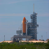 Shuttle Launch Pad 39B Royalty Free Stock Images