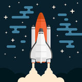 Shuttle shuttle Royalty Free Stock Images
